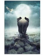 Elephant Guide To The Darkness Gifts Vertical Poster