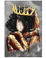 Lovely Phone Case Queen Crown Gift For Sister Vertical Poster