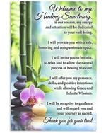 Welcome To My Healing Sanduary Special Custom Design Vertical Poster