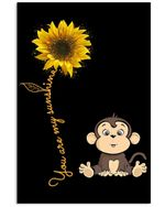 You Are My Sunshine Great Gift For Mom/dad Vertical Poster