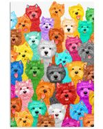 Lovely Westie Multi Gifts For Dog Lovers Vertical Poster