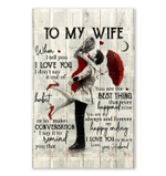 You Are Always And Forever My Happy Ending Giving Wife Vertical Poster