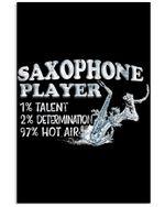 Saxophone Player Custom Design For Music Instrument Lovers Vertical Poster