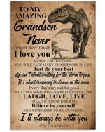 I'll Always Be With You Lovely Message From Nanny Gifts For Grandsons Vertical Poster