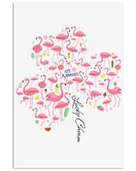 Flamingo Lucky Charm Special Unique Custom Design Vertical Poster