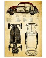 Car Detail Custom Design Gifts For Car Lovers Vertical Poster