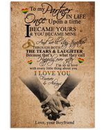 I Love You Forever And Always Lovely Message From Boyfriend Gifts For Girlfriends Vertical Poster