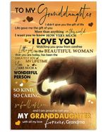 That's Messages For Granddaughter Who Loves Elephant From Grandma Vertical Poster