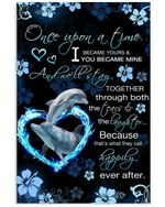 Wife Gift We'll Stay Together Through Both The Tears And The Laughter Vertical Poster