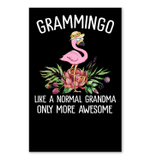 Grammingo Like A Normal Grandma Only More Awesome Vertical Poster