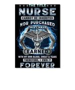 The Title Nurse Cannot Be Inherited Nor Purchased Gifts Peel & Stick Poster