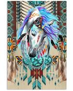 Vintage Horse Special Custom Design For Cool Boys Vertical Poster