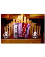 Accordion And Angels Poster Gift For Music Lovers Horizontal Poster