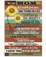To My Mom I Love You With All My Heart Gifts From Daughter Vertical Poster