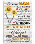 To My Mom I Will Always Be Your Little Girl Gifts From Daughter Vertical Poster