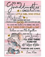 Lovely Elephant Messages For Granddaughter From Nan With Love Vertical Poster