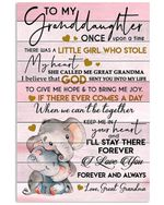 To My Granddaughter I Want You To Believe Great Grandma Gifts Vertical Poster