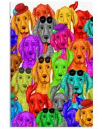 Funny Vizsla Multi Gifts For Dog Lovers Vertical Poster