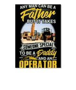 Someone Special To Be A Daddy And Operator Giving Family Peel & Stick Poster