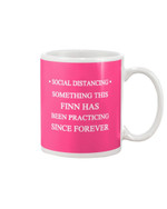 Social Distancing Something This Finn Has Been Practicing Since Forever Mug