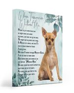 An Angel Came Called My Name Matte Canvas Tan Chihuahua Matte Canvas