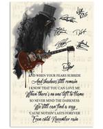 Gun N' Roses November Rain Design Special Gift For Fans Vertical Poster