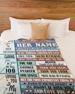 Caring For You Is My Job Gift For Wife Fleece Blanket Sherpa Blanket