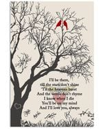 Bon Jovi When I Die You'll Be On My Mind And I'll Love You Always Vertical Poster