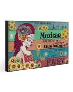 Gift For Daughter I Am A Mexican Women Matte Canvas Matte Canvas
