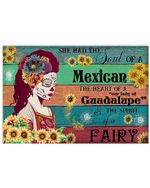 Gift For Daughter I Am A Mexican Women Matte Canvas Horizontal Poster