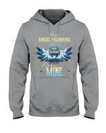 Birthday Gift For Husband I Used To Be His Angel Now He's Mine Hoodie