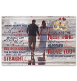 Husband Gift For Wife Happy Moment I Married You Horizontal Poster