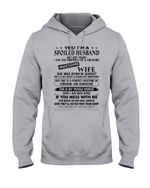 I'm A Spolied Husband But Not Yours - Awesome Wife Was Born In August Hoodie
