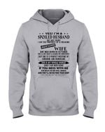 I'm A Spolied Husband But Not Yours - Awesome Wife Was Born In October Hoodie
