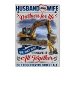 Husband And Wife Partners For Life Poster