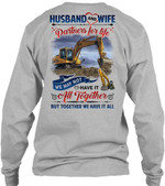 Husband And Wife Partners For Life Special Unisex Long Sleeve