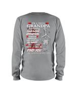 Gift For Grandpa I Will Slap You So Hard Keep Silent Unisex Long Sleeve