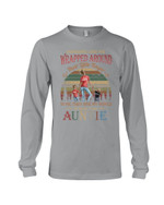 Their Little Fingers To Me They Are My World Gift For Auntie Unisex Long Sleeve