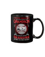 A Grandson Of A Freaking Awesome Grandma Baseball Lover Gift For Family Mug