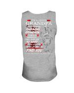 Gift For Grandpa I Will Slap You So Hard Keep Silent Unisex Tank Top