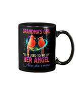 Gift For Angel Cardinal Grandma Now She's My Angel Mug
