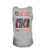 Pitbull Son-in-law The Man The Myth The Legend Unisex Tank Top