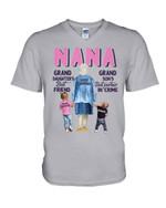 Gift For Nana Best Friend Best Partner In Crime Guys V-Neck