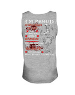 Keep Silent Nothing Beats Being A Grandad Gift For Grandpa Unisex Tank Top