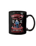 Gift For Grandpa Red I Would Be Super Cool Mug