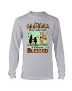 Gift For Grandma Horse Being A Grandma Doesn't Make Me Old Unisex Long Sleeve