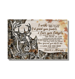 Buck And Doe Gift For Wife Love You Longer Matte Canvas