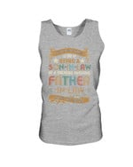 Family Gift Vintage A Son In Law Of A Freaking Awesome Father In Law Unisex Tank Top