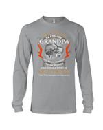 Gift For Grandpa I'm Not Retired I'm A Full Time Grandpa Unisex Long Sleeve