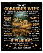Husband Gift For Wife How Special You Are To Me Deer Fleece Blanket Sherpa Blanket